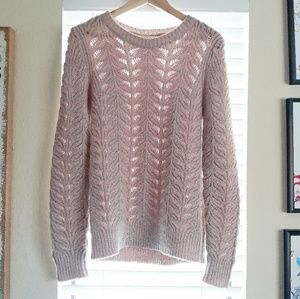 Banana Republic Sweaters - BANANA REPUBLIC light blush sweater Medium